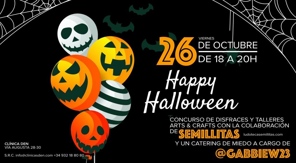 Festeggia Halloween con i più piccoli a Den Clinic!