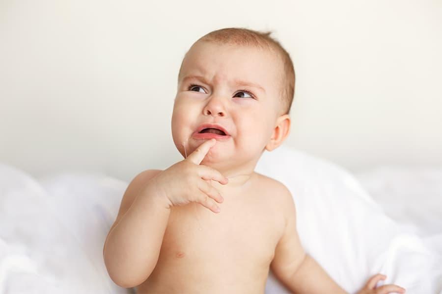 come alleviare la dentizione del bambino